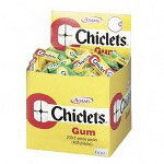 Chiclets® Chewing Gum in Display Box