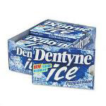 Dentyne Ice® Peppermint Gum, 12 Pieces per Pack, 12 Packs per Box
