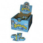Bubbaloo® Gum, Individually Wrapped, 60/BX, Peppermint