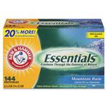 Arm & Hammer® Essentials Dryer Sheets, Mountain Rain