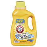 Arm & Hammer® OxiClean Concentrated Liquid Laundry Detergent, Fresh, 62.5 oz Bottle