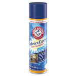 Arm & Hammer® Fabric and Carpet Foam Deodorizer, Fresh Scent, 15 oz Aerosol, 8/Carton
