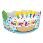 Carson Dellosa Publishing Company Student Crown, Birthday, 4 x 23 1/2