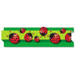 "Carson Dellosa Publishing Company Pop-It Border, Ladybugs, 3"" x 24', 8 Strips/Pack"