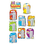 Carson Dellosa Publishing Company Multiplication Fact Monsters, 13 Pieces