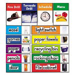 Carson Dellosa Publishing Company Labels Quick Stick Bulletin Board Set