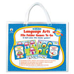 Carson Dellosa Publishing Company File Folder Games-To-Go, Language Arts, 1st Grade