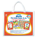Carson Dellosa Publishing Company File Folder Games-To-Go, Math, 1st Grade