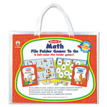 Carson Dellosa Publishing Company File Folder Games-To-Go, Math, 2nd Grade