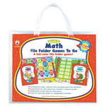 Carson Dellosa Publishing Company File Folder Games-To-Go, Math, 3rd Grade