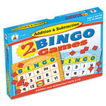 Carson Dellosa Publishing Company 2 Bingo Games, Addition/Subtraction, Ages 6 and Up