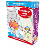 Carson Dellosa Publishing Company Language Arts Learning Games, 4 Game Boards, 2-4 players, Grade 2