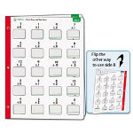 Carson Dellosa Publishing Company Math Windows, Addition, 5 Write-On/Wipe-Away Cards