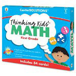 Carson Dellosa Publishing Company Thinking Kids Math Cards, Grade 1 Level