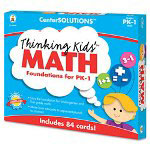 Carson Dellosa Publishing Company Thinking Kids Math Cards, Pre-K And Grade 1 Level