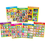 "Carson Dellosa Early Learning Charlet Set, 7 Charts, 17"" x 22"""
