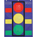 "Carson Dellosa Publishing Company Stoplight Pocket Chart, 14 1/2"" w x 11 1/2"" h"
