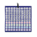 Carson Dellosa Publishing Company Hundreds Pocket Chart with 100 Clear Pockets, Colored Number Cards, 26 x 26