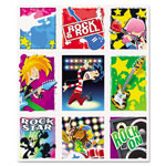 Carson Dellosa Publishing Company Rock Stars Prize Pack Stickers, Assorted, 216 Stickers