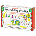 Carson Dellosa Publishing Company Write-On/Wipe-Off Pre-Printing Practice Activity Set, Ages 4 and Up