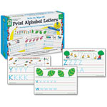 Carson Dellosa Publishing Company Write-On/Wipe-Off Print Alphabet Letters Activity Set, Ages 4 and Up