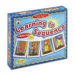 Carson Dellosa Publishing Company Learning To Sequence Game, 4-Scene Sets/48 Picture Cards, Gr. Pk - 3