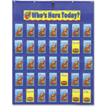 Carson Dellosa Publishing Company Attendance/Multiuse Pocket Chart
