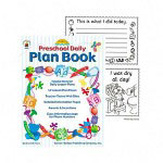 Carson Dellosa Publishing Company Preschool Daily Plan Book, 64 Pages, 52 Teaching Tips