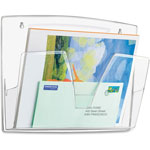 CEP 3-Pack Wall File, Clear