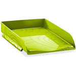 "CEP Origins Letter Tray, 10-1/5"" x 13"" x 2-1/2"", Green"