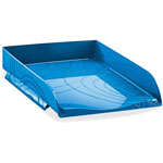 "CEP Origins Letter Tray, 10-1/5"" x 13"" x 2-1/2"", Blue"