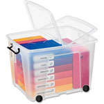 CEP Strata 75L Storage Box, Clear