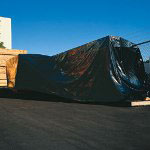 10' x 50' 4 Mil Black Poly Sheeting