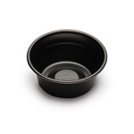 D&W Finepack C-Fine 5 oz. Laminated Bowl, Black