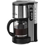 CoffeePro Drip Coffee Maker, 10-12 Cup, Stainless Steel