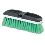 "Carlisle Foodservice Products Vehicle Brush, Nylex, Green Bristles, 10"", 2 1/2"" Bristles"
