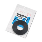 "Chartpak/Pickett Graphic Chart Tape, 1/16"" x 648"" Roll, Matte, Black"