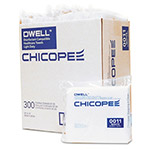 Chicopee Healthcare Towels, White, Polyester, 12 x 13, 300/Carton