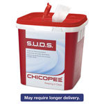 Chicopee S.U.D.S. Single Use Dispensing System Towels F/Chlorine,10x12,110/Roll,6Rl/Ctn
