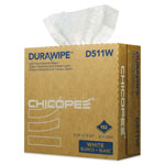 Chicopee Durawipe Light Duty Industrial Wipers, 8.8 x 12.8, White, 152/Box, 12 Box/CT