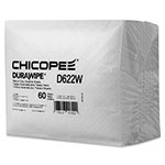Chicopee Durawipe Medium-Duty Industrial Wipers, 11.6 x 13, White, 60/Pack, 16Pk/Carton