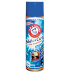 Arm & Hammer® Fabric and Carpet Foam Deodorizer, Aerosol, 6/Carton