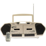 Califone Multiedia Player Boombox, Beige