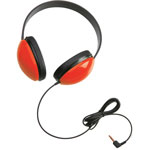 Califone Childs Stereo Headphone, Red