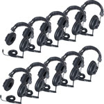 Califone Stereo Headphones Class Pack, Black