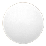 Honeymoon Paper Snobrite White Corrugated Cake Circle, 12""
