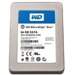 Western Digital SiliconEdge Blue SSC-D0064SC-2100 - Solid State Drive - 64 GB - SATA-300