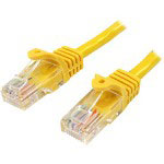 Startech Snagless Cat 5e UTP Patch Cable - Patch Cable - 10 Ft