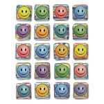 Chenille Kraft Company Creativity Street Peel & Stick Gemstone Stickers, Smiley Face, 20/Pack