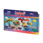 Chenille Kraft Company Sculpey Clay, Sampler Pack, Soft Pliable, 10 colors, 2 oz.